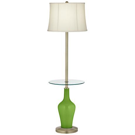 Rosemary Green Anya Tray Table Floor Lamp