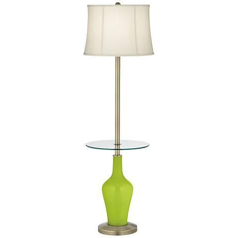 Tender Shoots Anya Tray Table Floor Lamp