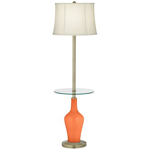 Nectarine Anya Tray Table Floor Lamp