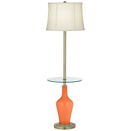 Nectarine Anya Tray Table Floor Lamp