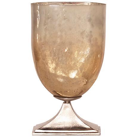 """Howard Elliott 22 1/2"""" High Caramelized Antique Glass Vase"""