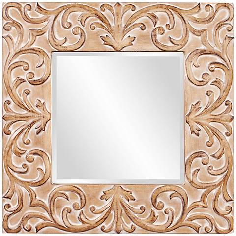 "Howard Elliott Larson 39"" Square Wall Mirror"