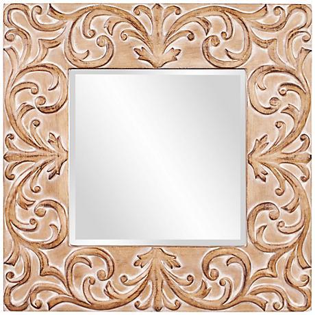 """Howard Elliott Larson 39"""" Square Wall Mirror"""