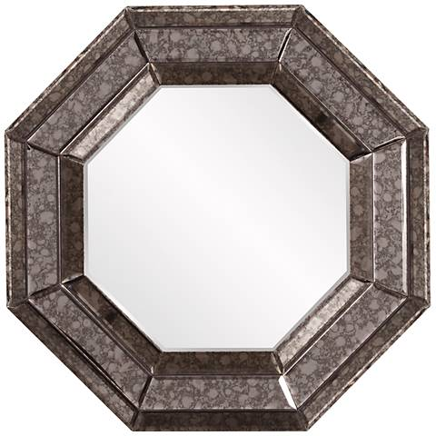 "Howard Elliott Jansen 24"" x 24"" Octagonal Wall Mirror"