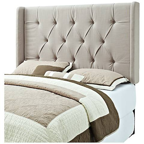 Taylor Taupe Linen Headboard