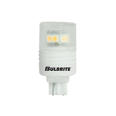 2.5 Watt 3000K Warm White T3 LED Wedge Light Bulb