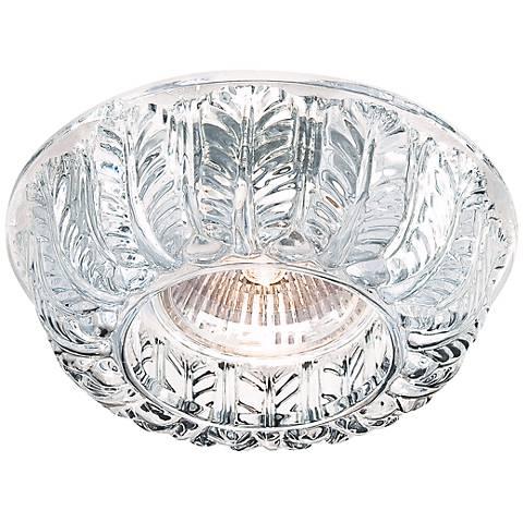 Eurofase Round Carved Glass Decorative Trim