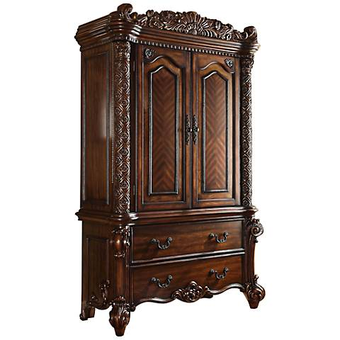 Vendome Carved Traditional TV Console