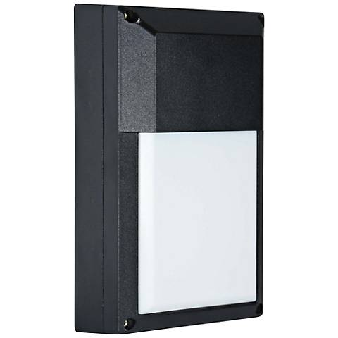 """Kenney 9"""" High Black LED Outdoor Wall Light"""