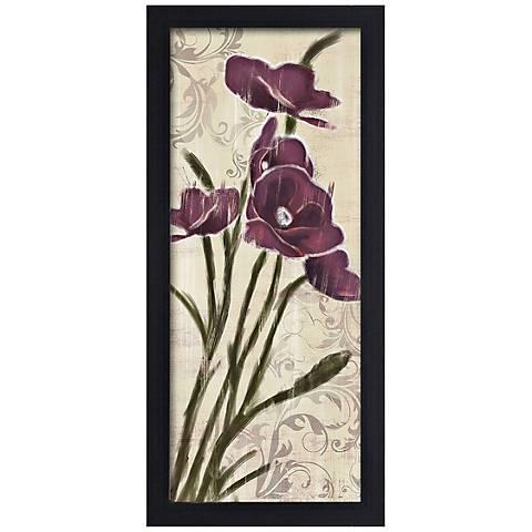 "Blossom Season II 20 1/2"" High Framed Giclee Wall Art"