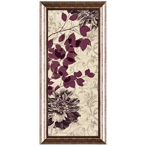 "Leaves Fall I 22 1/2"" High Framed Giclee Wall Art"