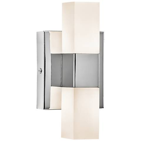 "Elan Tvill LED 9 1/2"" High Chrome Wall Sconce"