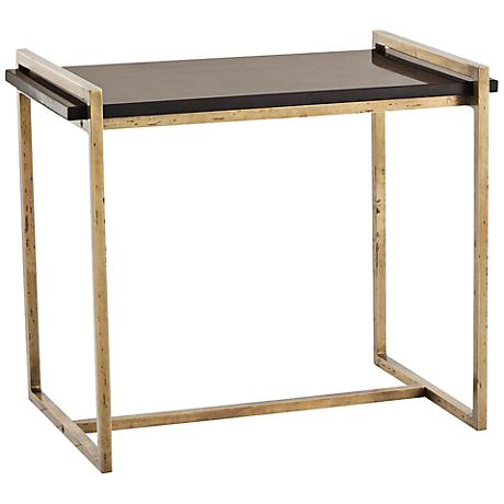 Arteriors Home Hollis Vintage Brass Side Table