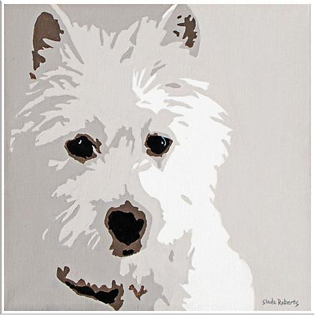 """Cute Pet XIII 16"""" Square Framed Giclee Wall Art"""
