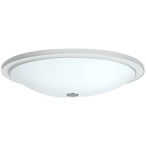 "Besa Manta 13 1/2"" Wide Opal Glass Ceiling Light"