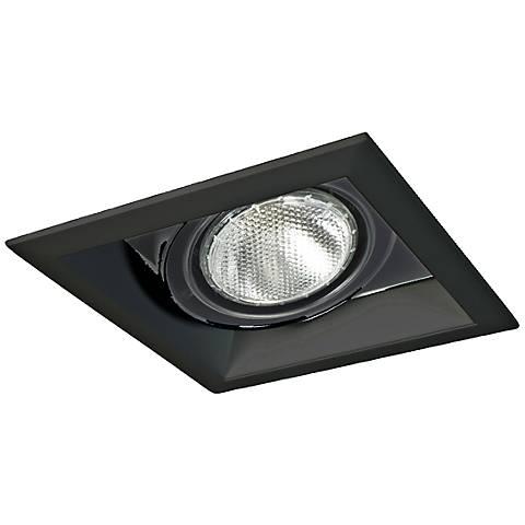 Eurofase Black Square Par 20 Recessed Light