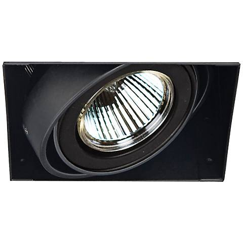 Eurofase Low Voltage Black Recessed Light