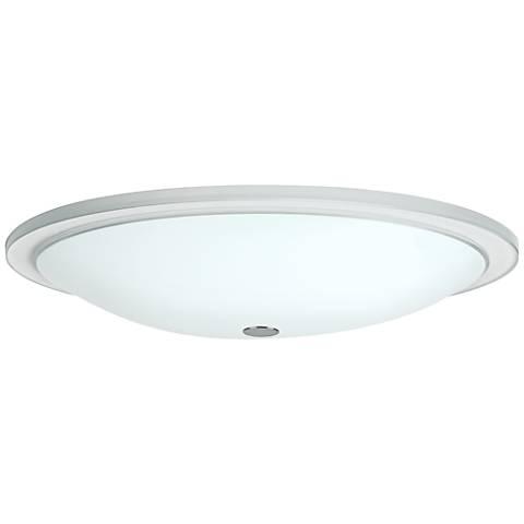 "Besa Manta 18"" Wide Opal Glass Ceiling Light"