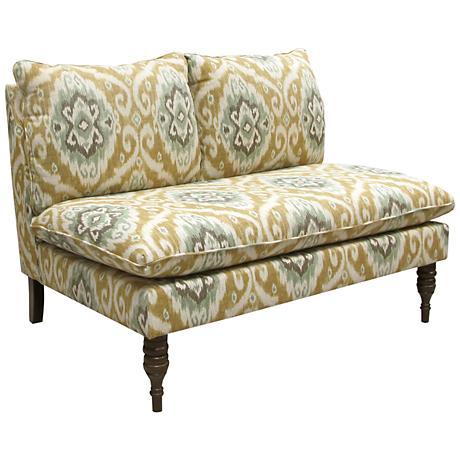 Ubud Opal Upholstered Armless Loveseat