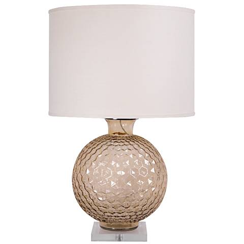 Jamie Young Clark Sphere Gold Table Lamp