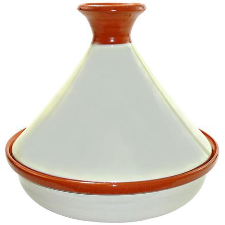 Le Souk Ceramique Ivory Slow Cooker Tagine