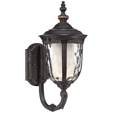 "Bellagio™ 16 1/2"" High Up Arm LED Outdoor Light"