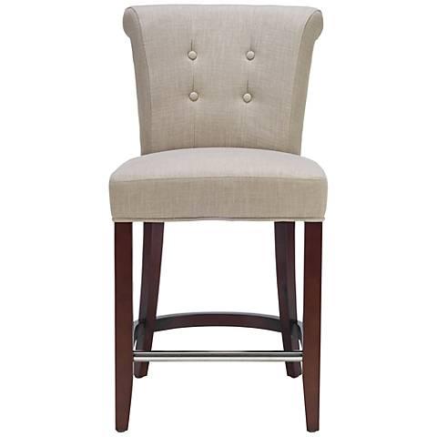 """Arai Back Upholstered 26"""" Counter Stool"""