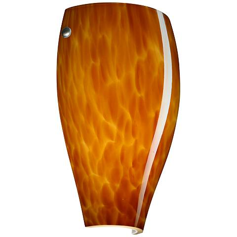 "Besa Chelsea 11"" High Amber Cloud Sconce"