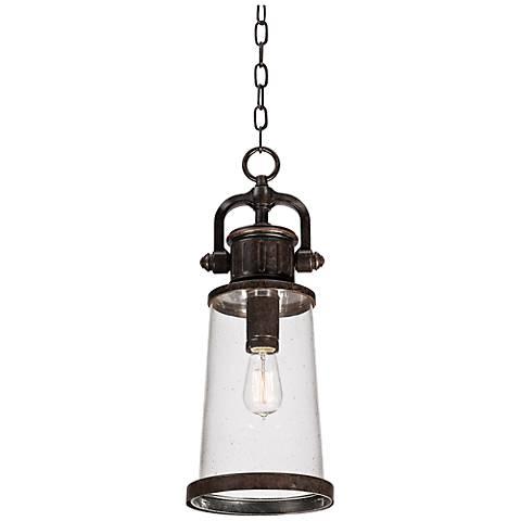 "Quoizel Steadman 21"" High Large Outdoor Hanging Light"