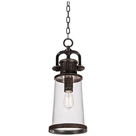 "Quoizel Steadman 21"" High Large Outdoor Hanging Light"