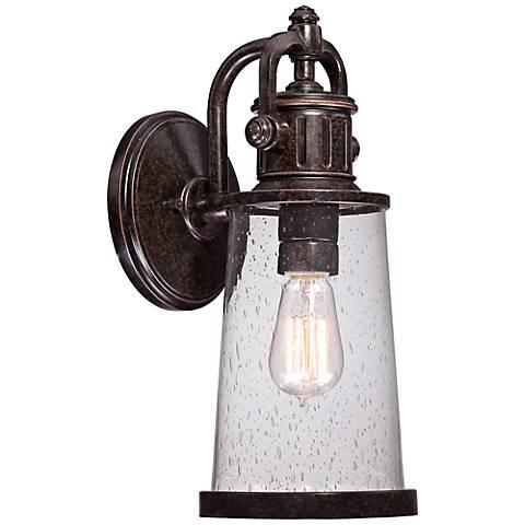 """Quoizel Steadman 16"""" High Medium Outdoor Wall Light"""