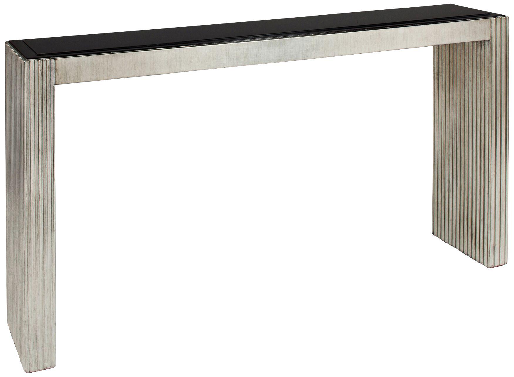 Amazing Roohland Graywash Minimalist Console Table