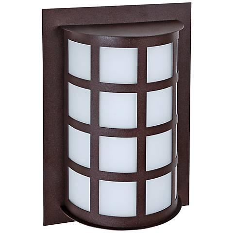 """Besa Scala 13"""" High Bronze Outdoor Wall Light"""