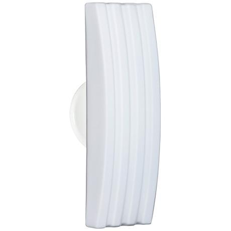 """Besa Sail 13 1/2"""" High White Outdoor Wall Light"""