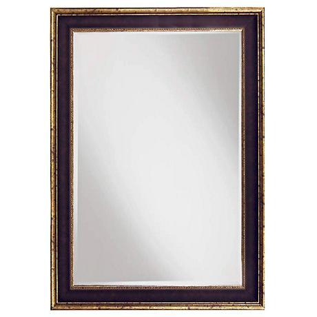 "Dewitte Cordovan  24 1/2"" x 34 1/2"" Wall Mirror"
