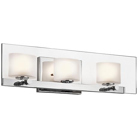 """Kichler Como 21 3/4"""" Wide Polished Chrome Bath Light"""