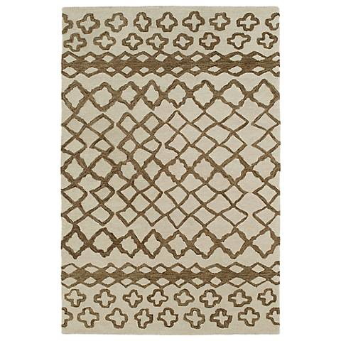 Kaleen Casablanca CAS01-49 Brown Wool Area Rug