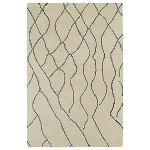 Kaleen Casablanca CAS03-01 Ivory Wool Area Rug
