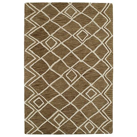 Kaleen Casablanca CAS04-49 Brown Wool Area Rug