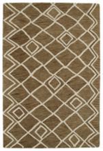 Kaleen Casablanca CAS04-49 Brown 5'x8' Wool Area Rug