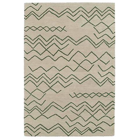 Kaleen Casablanca CAS05-81 Emerald Wool Area Rug