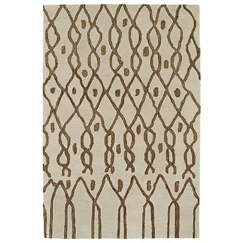 Kaleen Casablanca CAS06-01 Ivory Wool Area Rug