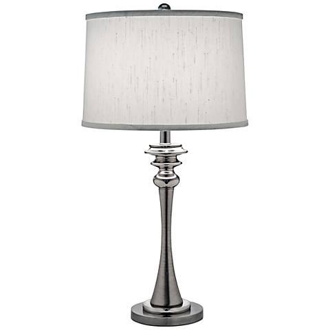 Stiffel Polished Nickel Table Lamp