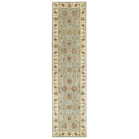 Kaleen Heirloom 8801-56 Sybil Spa Wool Area Rug