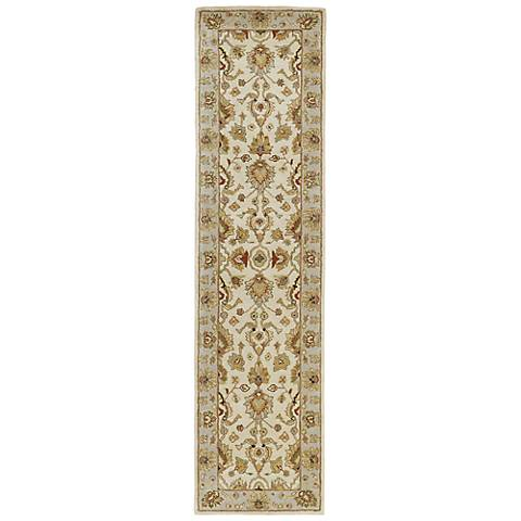 Kaleen Heirloom 8802-01 Heather Ivory Wool Area Rug