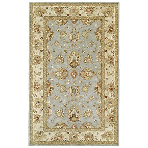 Kaleen Heirloom 8802-56 Heather Spa Wool Area Rug