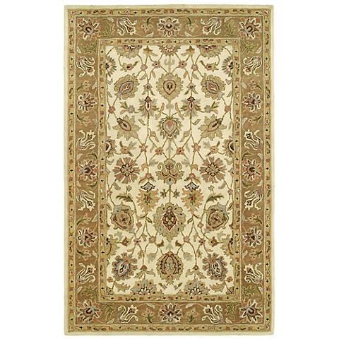Kaleen Heirloom 8803-42 Deborah Linen Wool Area Rug