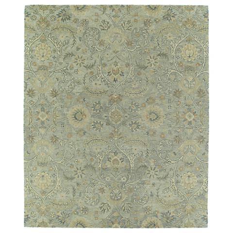 Kaleen Helena 3200-77 Athena Silver Wool Area Rug