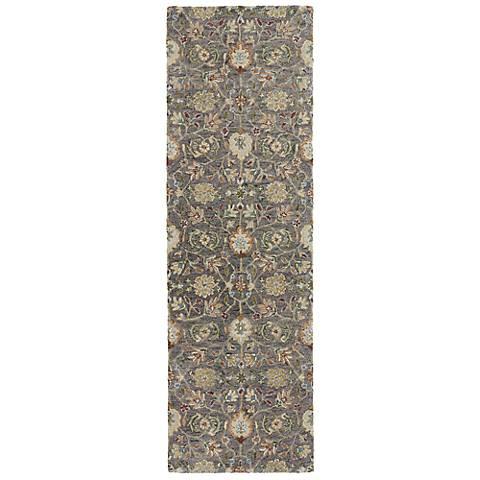 Kaleen Helena 3201-73 Hera Pewter Wool Area Rug