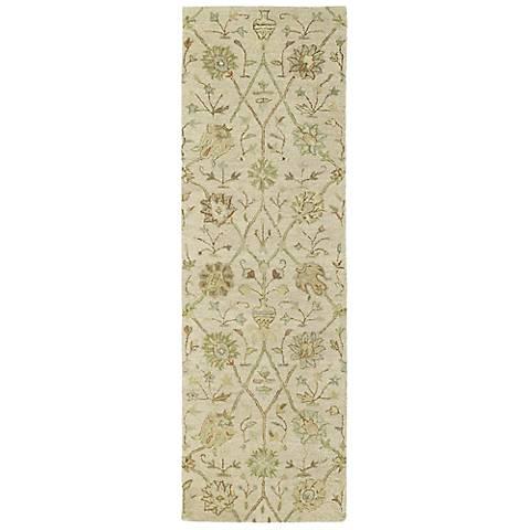 Kaleen Helena 3202-01 Aphrodite Ivory Wool Area Rug